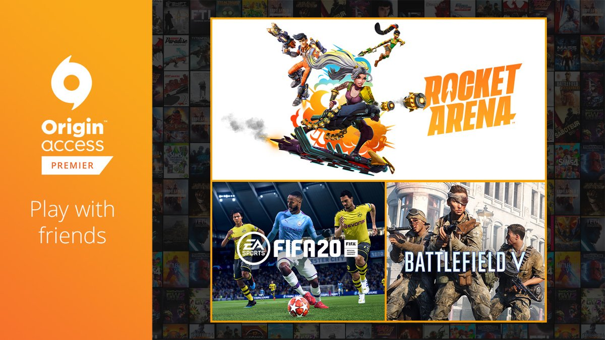 Origin On Twitter Friend Referral Is Still Live For Origin Access Premier Members Try Out Games Like Rocketarena And Fifa With Your Squad By Giving Them A Free Week Of Oap Https T Co Ipjsrfafw7