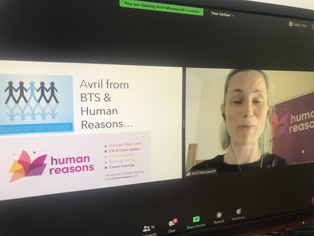 "Thank you to Avril Mansworth from ""Breaking The Silence"" @bts_cobh for joining our team virtually today as part of our the 'Trigon Hotels Team Support Hub Talk' with a Safe Talk training session. Avril has volunteered with Breaking The Silence for the past 11 years. Thank you 🙏 https://t.co/HfO4uBuByd"
