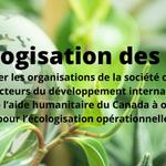 Image for the Tweet beginning: Appel aux OSC📣 Notre projet