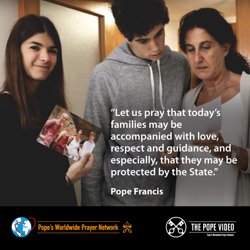 We must all—including the state—protect families, @Pontifex reminds us. #AccompanyWithLove #ThePopeVideo youtube.com/watch?v=IGZJRu… @LaityFamilyLife