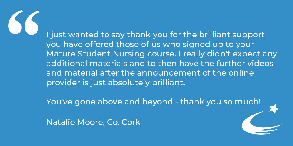 We take great pride in providing our customers with the very best preparation service and its always nice when they come back to thank us 🙂  You can read the kind words of more of our happy customers here: https://t.co/jykWvaTsmT  #NursingCareer #TestimonialTuesday https://t.co/vtTY7V7Dms
