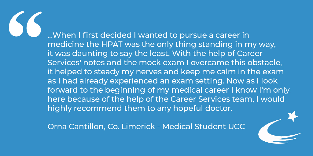 We've helped thousands of students to secure their place in Medicine by helping them to achieve outstanding results in the HPAT-Ireland exam 👩⚕️👨⚕️  You can read more of our HPAT-Ireland customer testimonials here: https://t.co/oZpM5ItrTI  #StudyMedicine #HPAT #TestimonialThursday https://t.co/8TEvBE5xy9