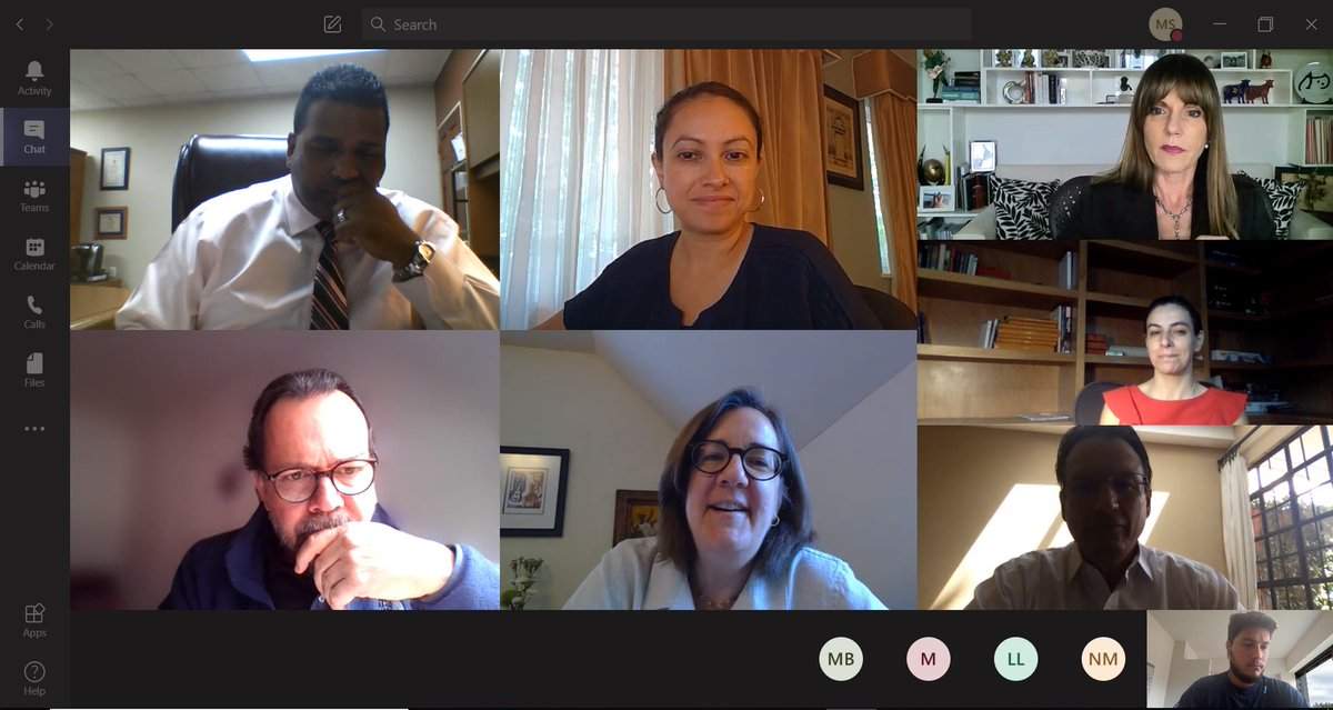 test Twitter Media - The #AACCLA Governing Board at it's monthly conference call, receiving an update from Washington and discussing our upcoming programs; including preparations for #FOLAC, our premier fall conference. https://t.co/g6aY3SKuSr