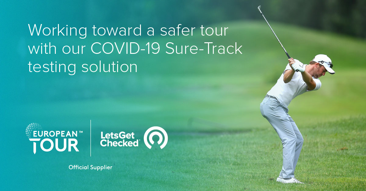 We are proud to be an official supplier of COVID-19 testing for the 2020 European Tour, increasing the safety for all involved during the season with fast and accurate PCR testing. Best of luck to all players participating. @EuropeanTour #LetsGetChecked #EuropeanTour #Golf #COVID https://t.co/gTEJrwZVFB