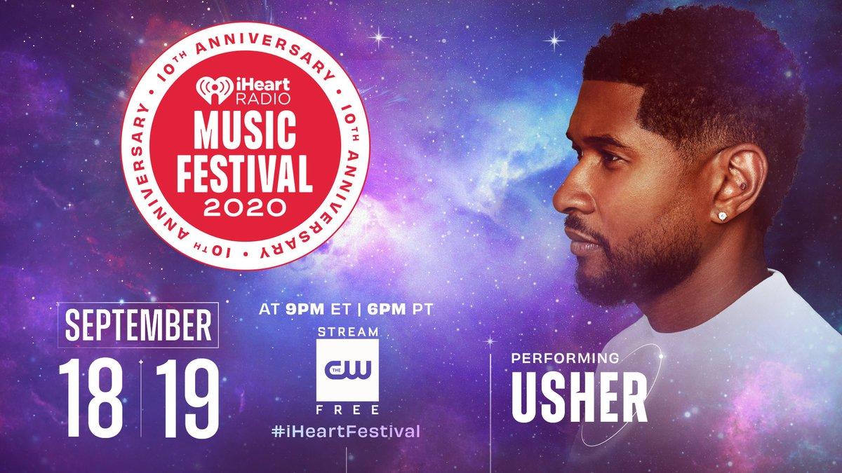 Replying to @iHeartRadio: 🚀💙 @Usher 💙🚀  #iHeartFestival