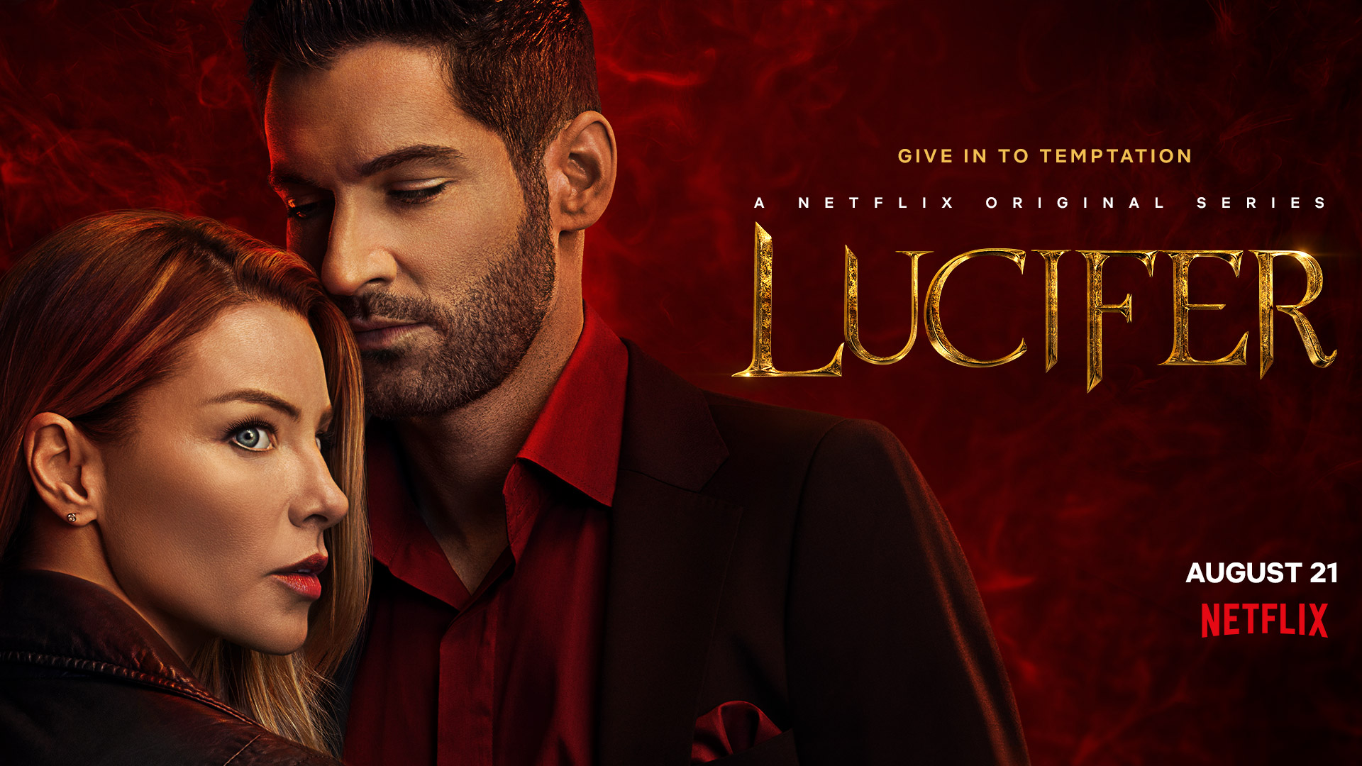 Lucifer Detective Chloe Decker Is Tempted On The Official Poster For Season 5