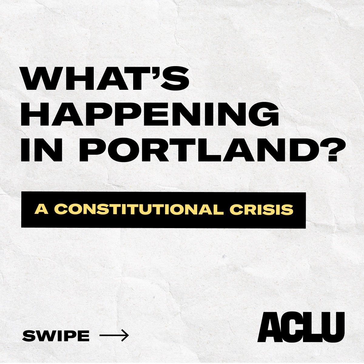 Get up to speed on the unconstitutional crackdown on protesters' rights. We can't allow this to continue in Portland — or anywhere else. https://t.co/EclDFfQgwM