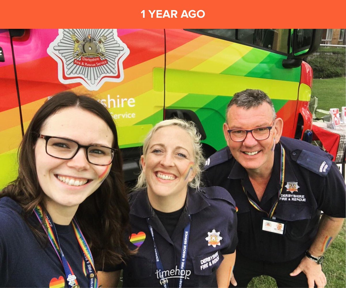 Really missing Pride events this year 🌈 Throwback to @cfieldpride last year 🏳️‍🌈