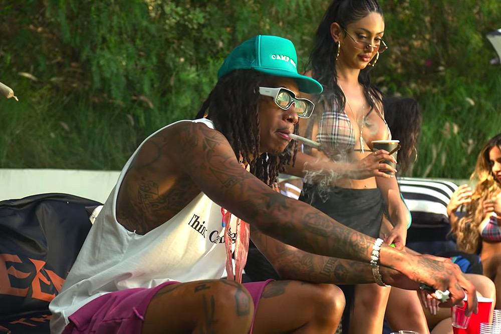 Porn Photo American Rapper Wiz Khalifa