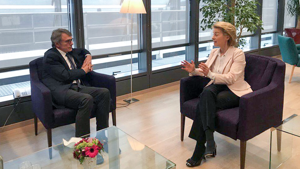 Today I met President @vonderleyen and had a phone call with @eucopresident Michel. I invited them to the @Europarl_ENs plenary session on Thursday, 23 July, and they both confirmed their presence.