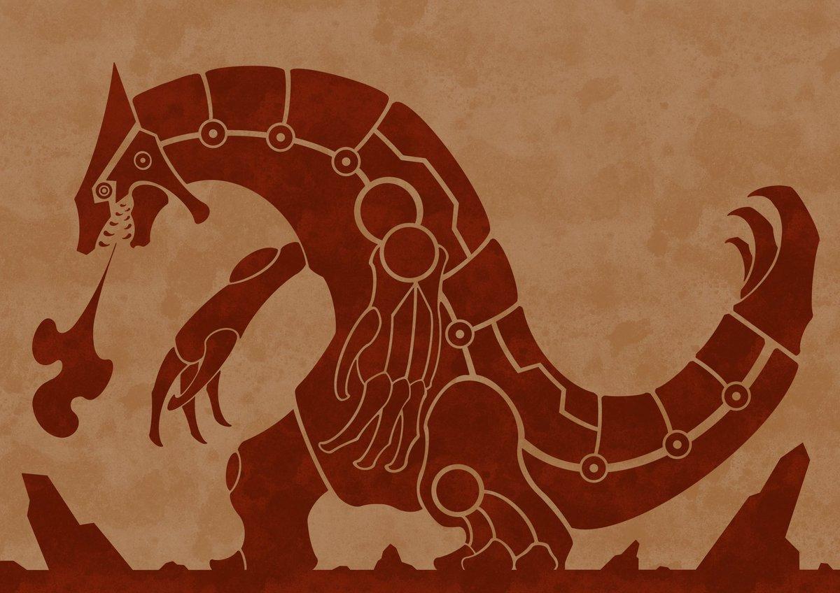 遠古時代的寶可夢繪圖 Ede-cI9UcAEXub_