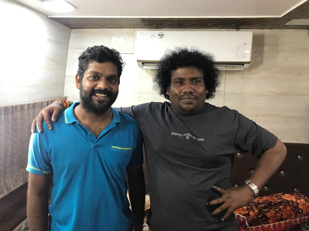 Here's wishing our dearest Actor @iYogiBabu a very happy birthday, Have a fun-tastic year ahead! 😀  #HBDYogiBabu  #HappyBirthdayYogiBabu https://t.co/5lZV7xTT8g