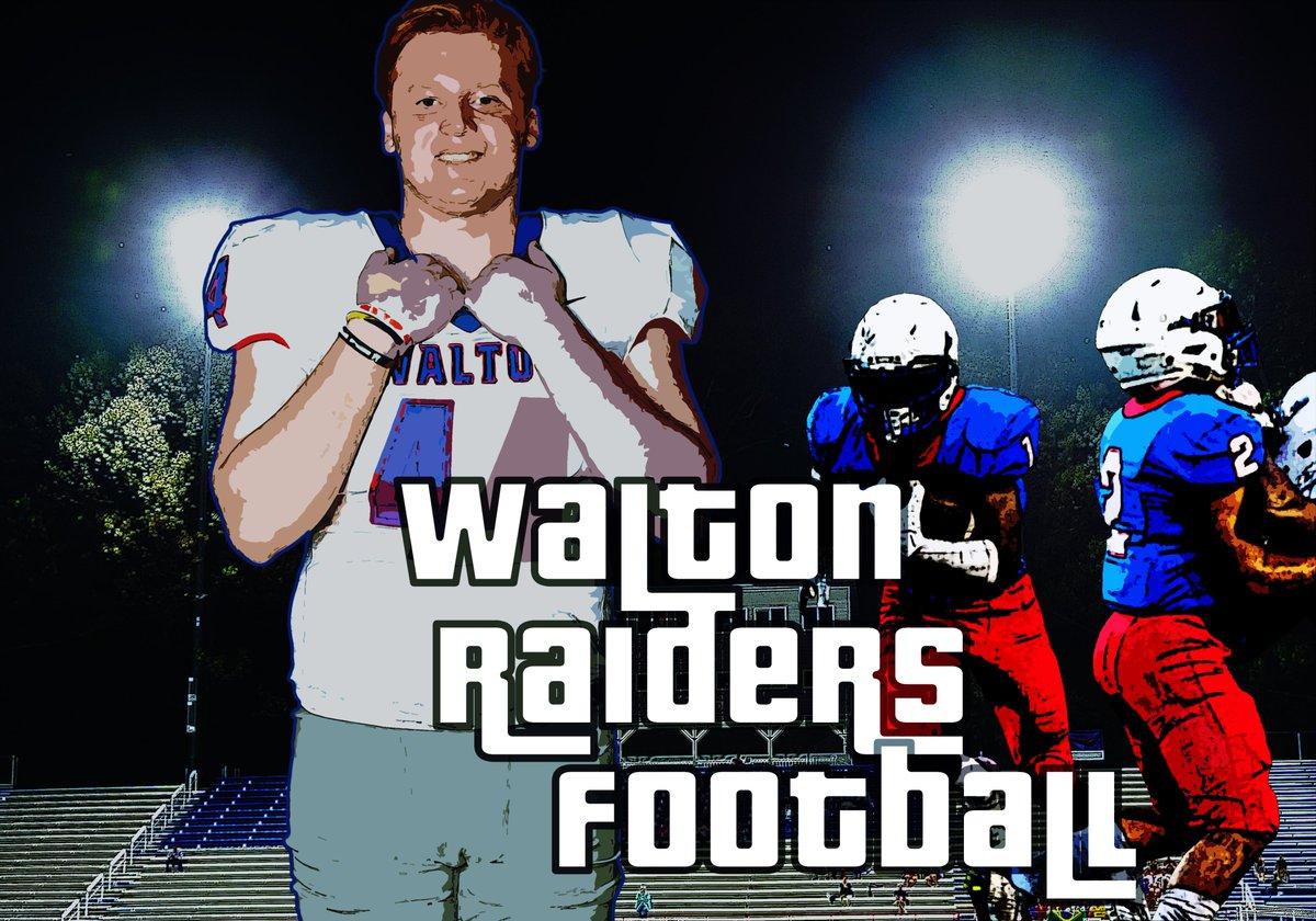 The Raider rises this fall! @WaltonRecruits @WaltonTDClub @WHSRaiderFans