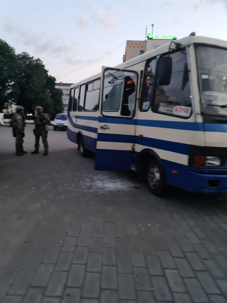 О фейковом `теракте` в Луцке.