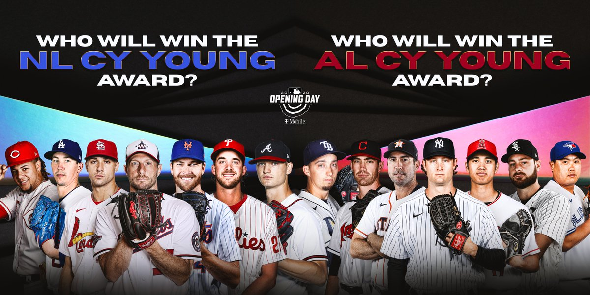 The 2020 Cy Young winners will be _______ and ________. https://t.co/kMYb6hFp5K