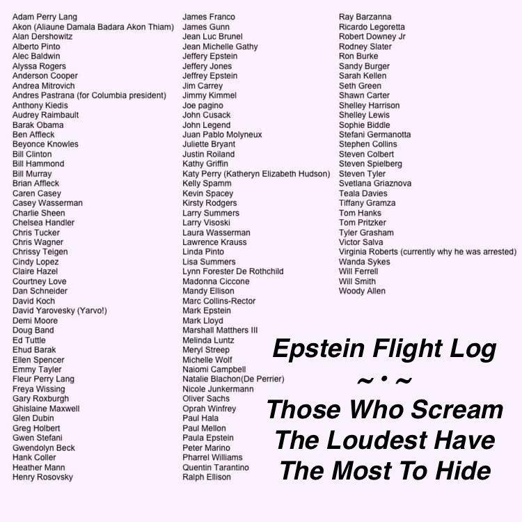 Jeffery Epstein Flight Logs Released plus MORE Edf2alkUYAAs0AE