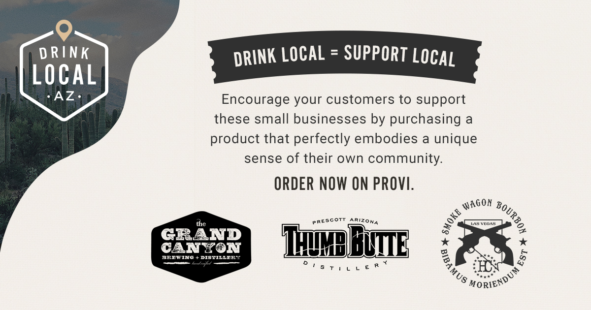 You know how important local businesses are to the community, and you can encourage your customers to support them by purchasing from these great local brands. Stock up now on Provi. @gcbrewery @TBDistillery https://t.co/XrbgBJc1U5 https://t.co/e8DE0rrU9E