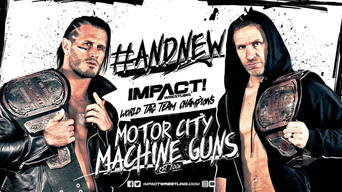 New Tag Team Champions Crowned On Impact Wrestling