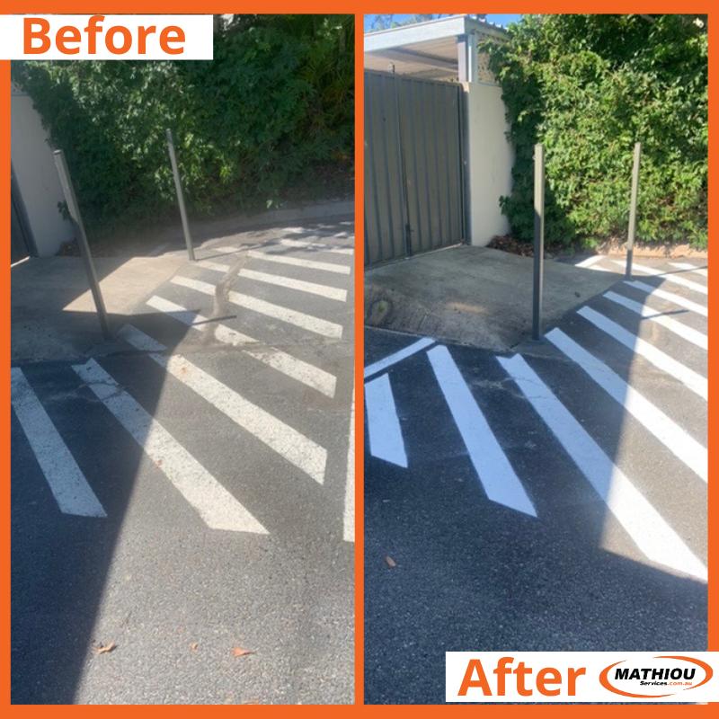 Fresh paint for the car park#MathiouServices #freshpaint #commercialpainters pic.twitter.com/9l88oS540B