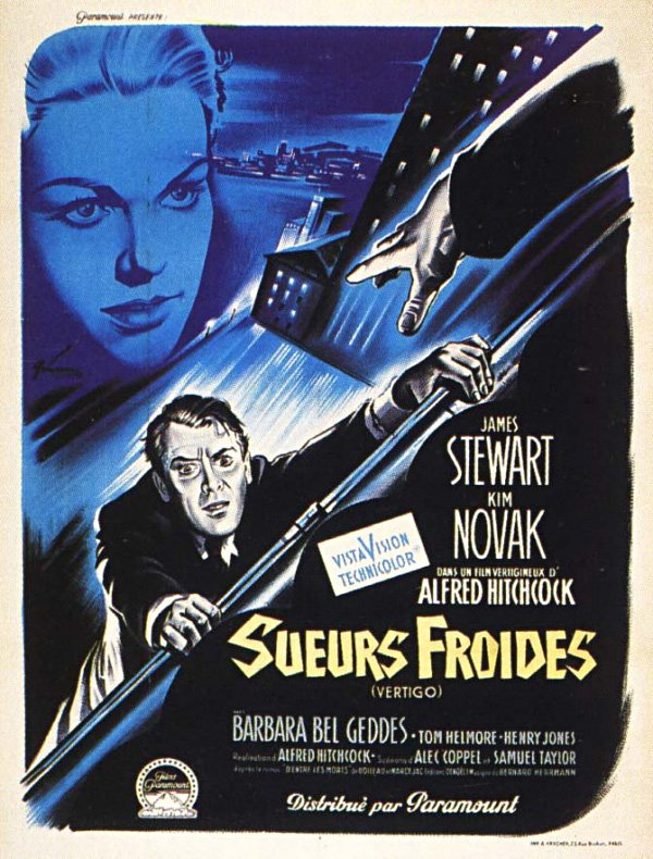 VERTIGO (1958) by Alfred #Hitchcock French #poster by Boris Grinsson #horror pic.twitter.com/MIyny0jVBd
