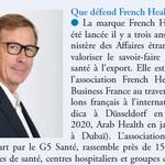 « Le fabriqué en France est plus vigoureux que jamais » Interview de Jean-François Gendron, président de French Healthcare Association, dans Pharmaceutiques n°278, juin-juillet 2020 https://t.co/ZkgDaLhfYw @Pharmaceutiques