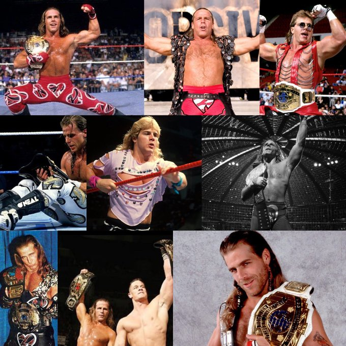 Happy Birthday to the The Heartbreak Kid Shawn Michaels