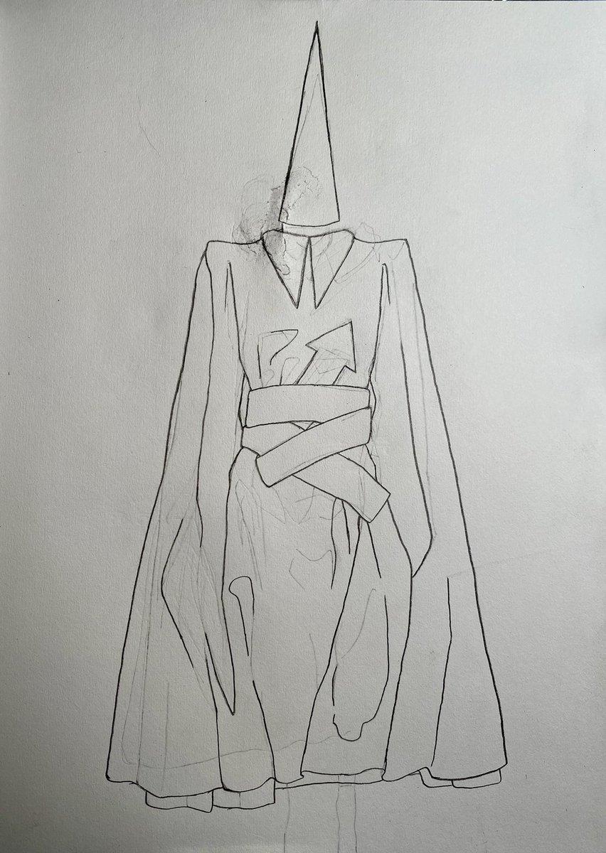 I tried to draw a dress!