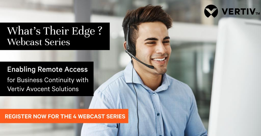 One hour until Vertiv experts uncover how the latest out-of-band technologies can deliver 24/7 access even when the network goes down, avoiding costly consequences. This week's channel webcast is 10am BST, July 22. https://t.co/IU0s8D6UPB #VertivEvents https://t.co/dJ1Q6ljjB2