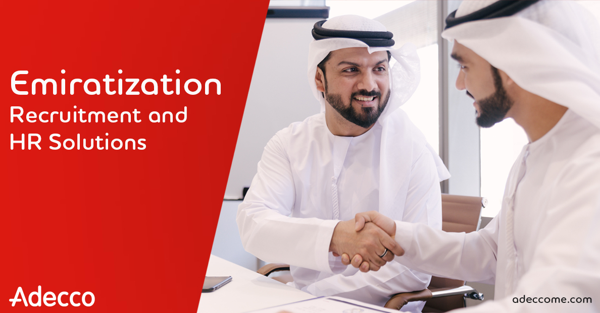 Work with world's leading HR Solutions experts in Emirati recruitment!!!With an extensive network of UAE and Saudi national candidates, Adecco is fully committed to support you with the best local talent across all industries.  Contact adeccoae.info@adecco.com #adeccomiddleeast https://t.co/l4uaS0g0Xa
