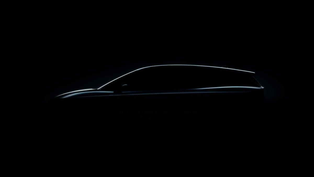 First glimpse of the Enyaq iV all-electric SUV. #skoda #EV