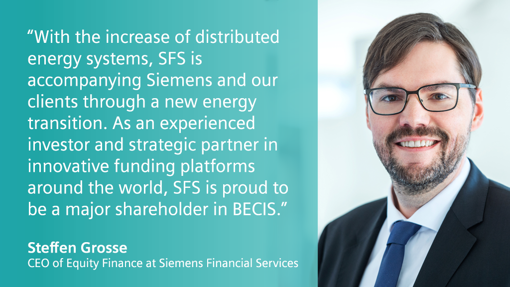 """By investing a key stake in BECIS, we're helping commercial and industrial businesses in the #APAC market acquire @SiemensInfra smart energy solutions without upfront capital – via an """"Energy as a Service"""" model that saves cost while going green: https://t.co/UrT1wkllwq https://t.co/fDReBceFPr"""