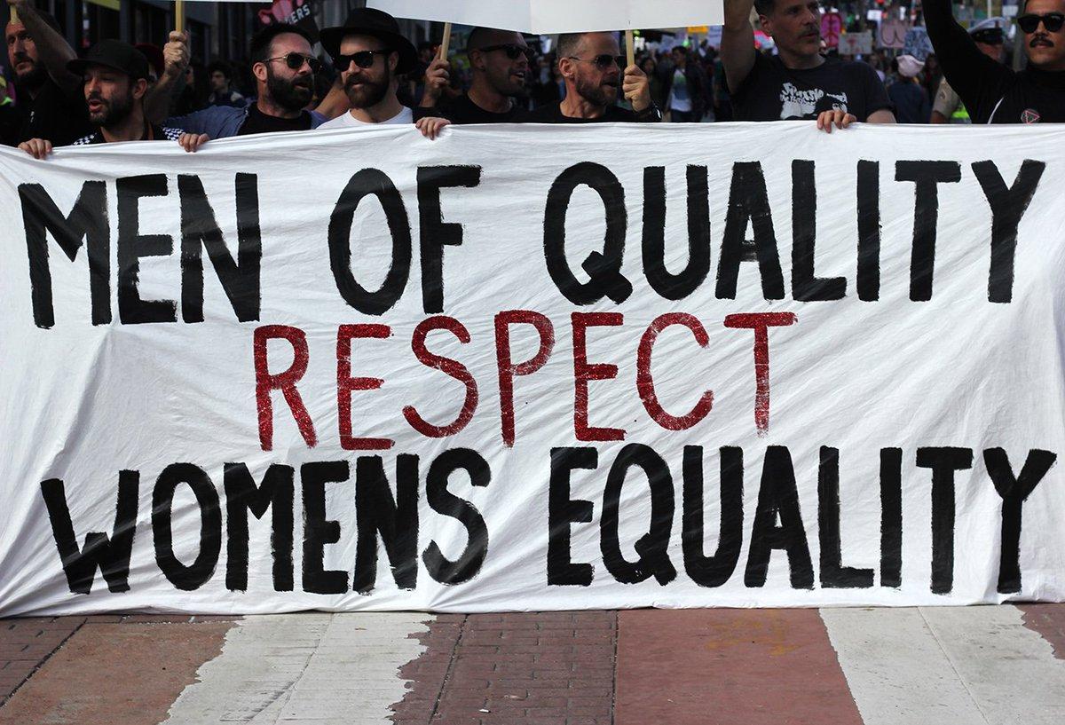 test Twitter Media - RT @the_female_lead: Men of quality respect women's equality ✊ https://t.co/txfWR1fnT0
