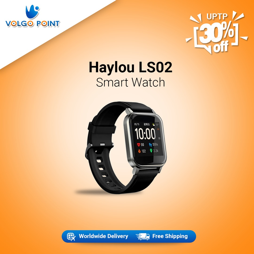 Haylou LS02 Smartwatch Global Version 9 Sport Modes  Shop Now: https://www.volgopoint.com/volgoshopping/product/haylou-ls02-smartwatch-global-version-9-sport-modes/… For More Details & Info: Email us: Info@volgopoint.com Or Inbox us at Facebook @volgopointshopping #Smartwatch #smartwatchmurah #smartwatches #smartwatchA1 #smartwatchu10 #smartwatchgt08pic.twitter.com/V1Oo7zCjWB