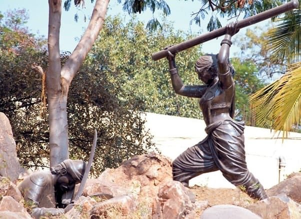 """RenukaJain on Twitter: """"How many of us have heard of Onake Obavva? She was  neither a queen nor a princess, but the wife of a common guard at  Chitradurga Fort. She fought"""
