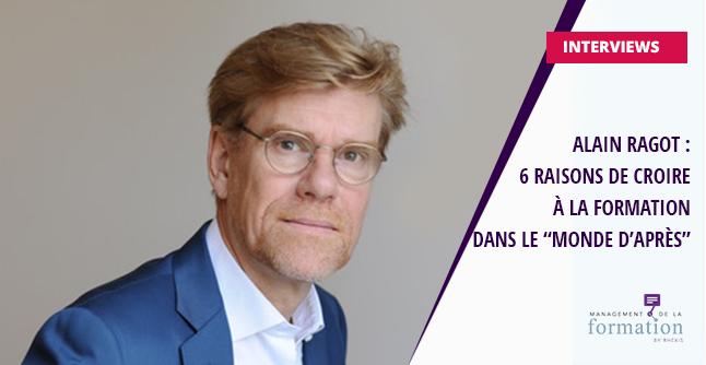 Alain Ragot, dirigeant de RHEXIS, sur la formation dans le monde d'après la crise sanitaire