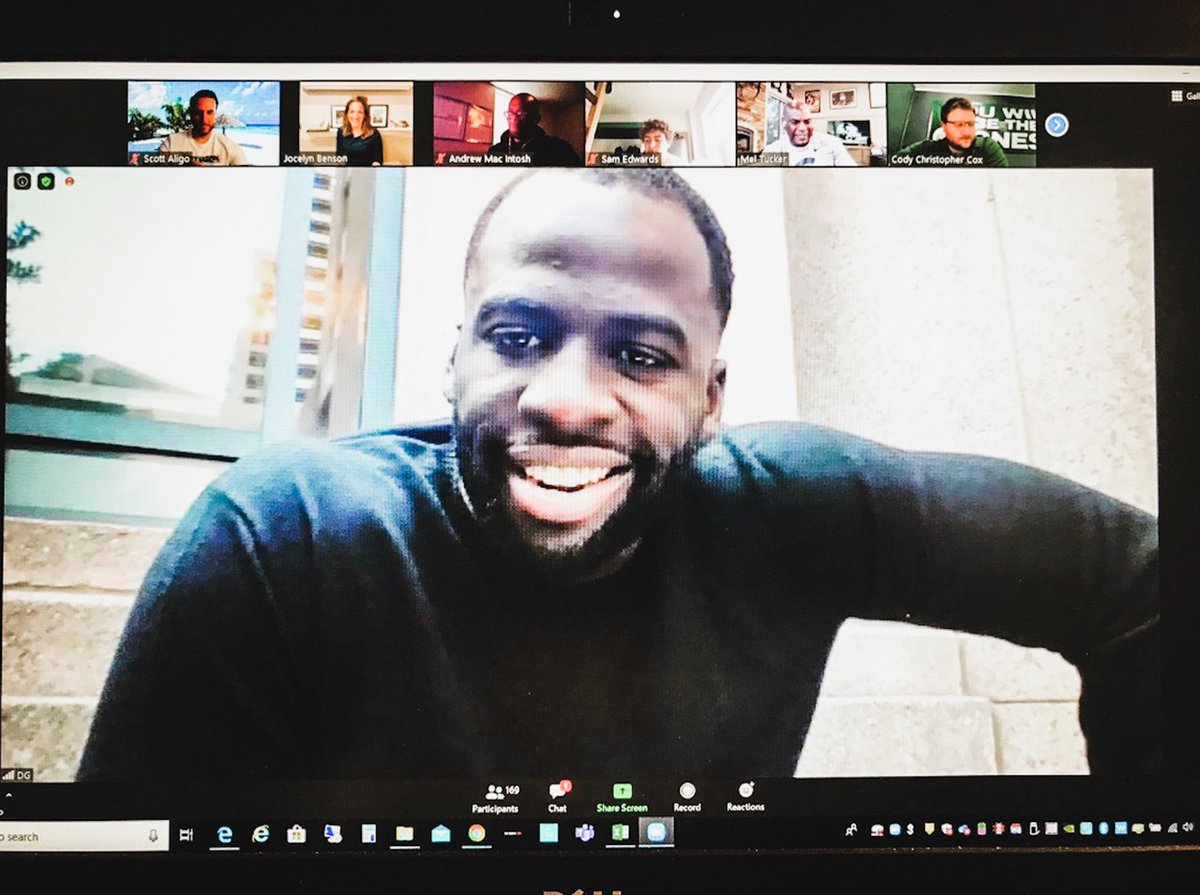 Thank you @Money23Green & Madam Secretary @JocelynBenson, @ScottAligo + awesome others for  jumping on our Zoom meeting w/ @MSU_Football & more to share your wisdom on the importance of student-athlete voices along with resources on voting & voter rights. #Rise #RelentlessChange https://t.co/CoMtiVTx14
