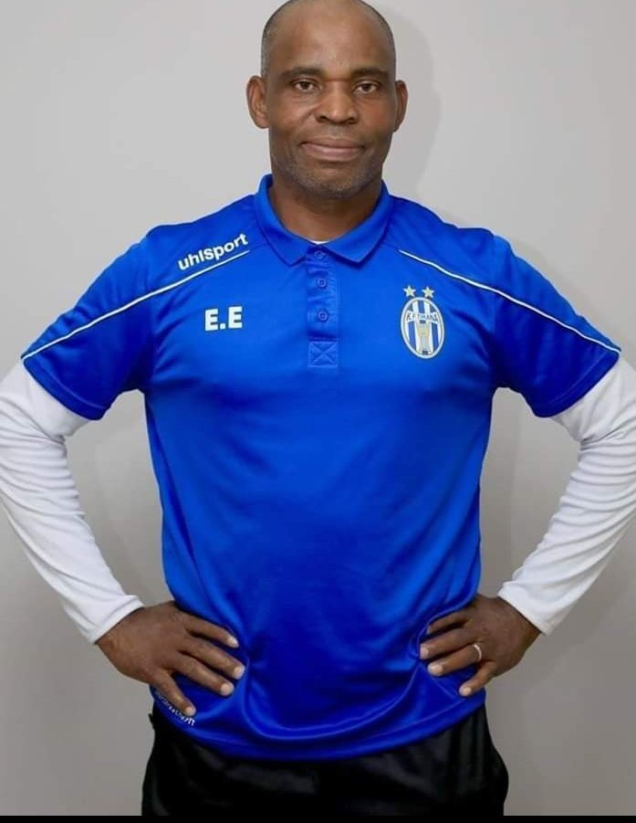 Ndubuisi Egbo, the first African coach to lead a European team, FK Triana of Albanian league, to win a league title