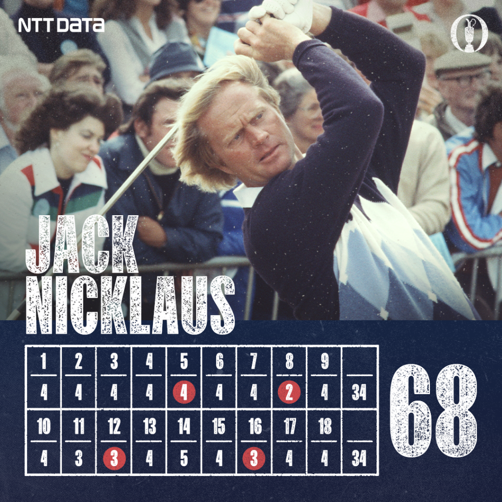 What a final round by @jacknicklaus at The Open for the Ages. In case you missed it, you can watch the final round here 👉grp.hsbc/6011Gk467 #HSBCSport #TheOpenForTheAges @TheOpen