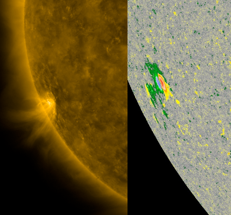 News Burst 23 Luglio 2020 - Live Feed - New Sunspot