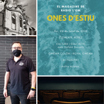 Image for the Tweet beginning: ONES D'ESTIU 🌊☀️🎙️ hui amb:-