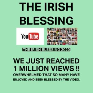 Overnight The Irish Blessing reached ONE MILLION views on our YouTube Channel!  https://t.co/v7C58fONbg https://t.co/RkTSKngtIV