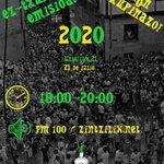 Image for the Tweet beginning: EZ TXUPINAZOA – NO TXUPINAZO 2019-2020