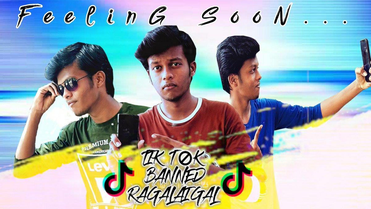 Tik Tok Banned Ragalaigal... Video on the way  feeling soon guys_#aamspullingow  #aamsofficial #ragalaigal #newposter  #postup  #TiktokBannedInIndia  #youtubechannel #tamilentertainment #comedyvideo #videocreator #tamilanpic.twitter.com/v2DBIDcwB9