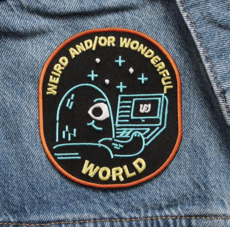Plus this cool WWW patch, much cooler than the one Shane and Ryan wear in the episodes! https://t.co/GROZRvsVn3