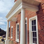 Image for the Tweet beginning: Basingstoke - Another portico complete