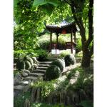 Image for the Tweet beginning: Beggar's Knoll Chinese garden near