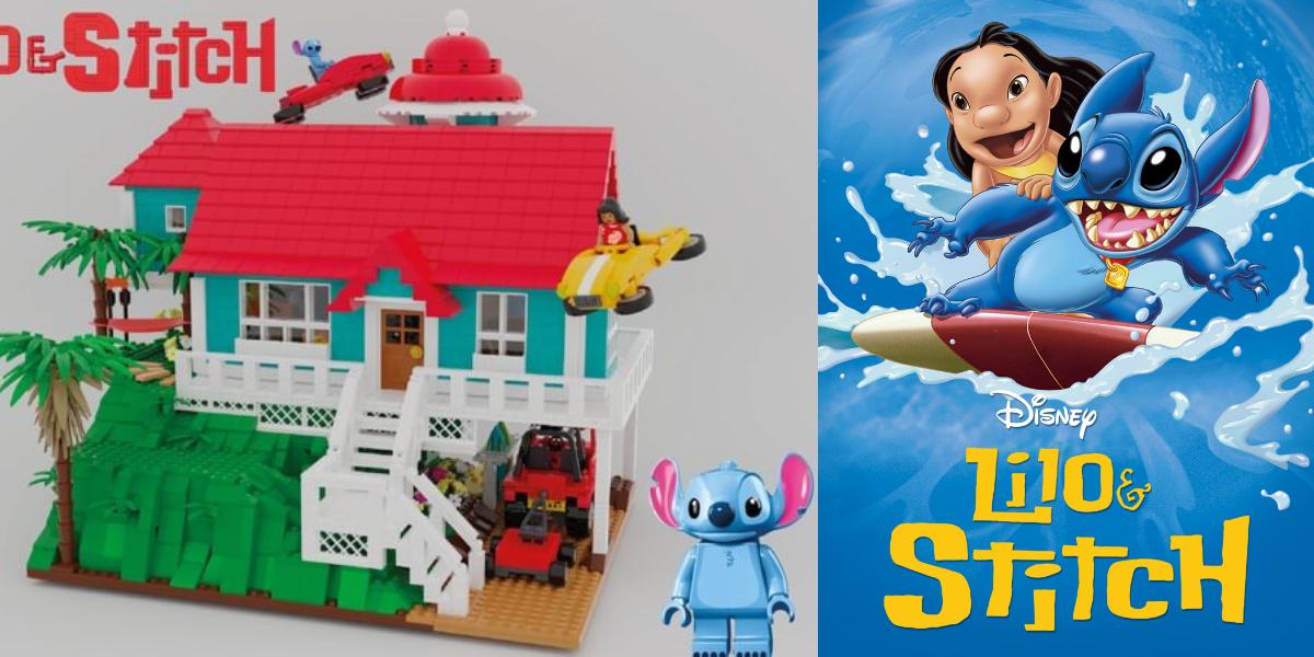 (Projet) Une fan a soumis son idée de set LEGO Lilo & Stitch au site @LEGOIdeas. Pour espérer voir ce projet se concrétiser, soutenez là en votant pour elle. https://t.co/w1sfJgyoAU #LEGO #LiloetStitch https://t.co/uw31gwD7kz