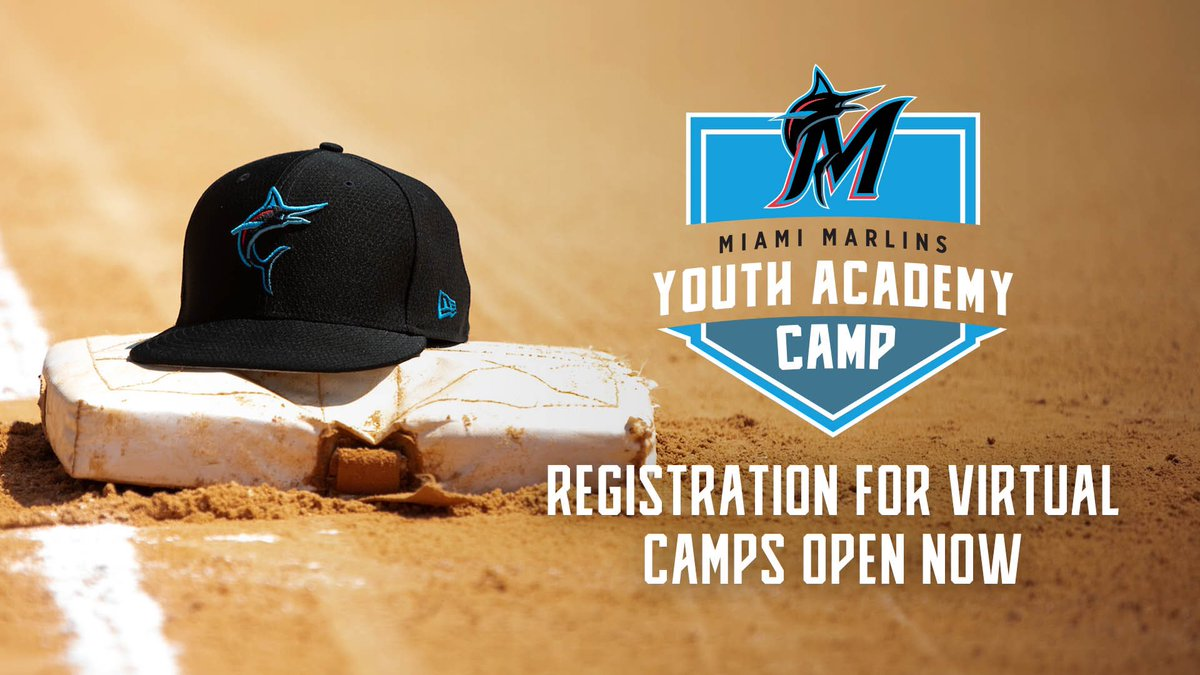 The Miami Marlins Foundation is partnering up with Headfirst Professional Sports to create a virtual summer camp for kids beginning Monday, July 27. Register NOW: marlins.com/camp