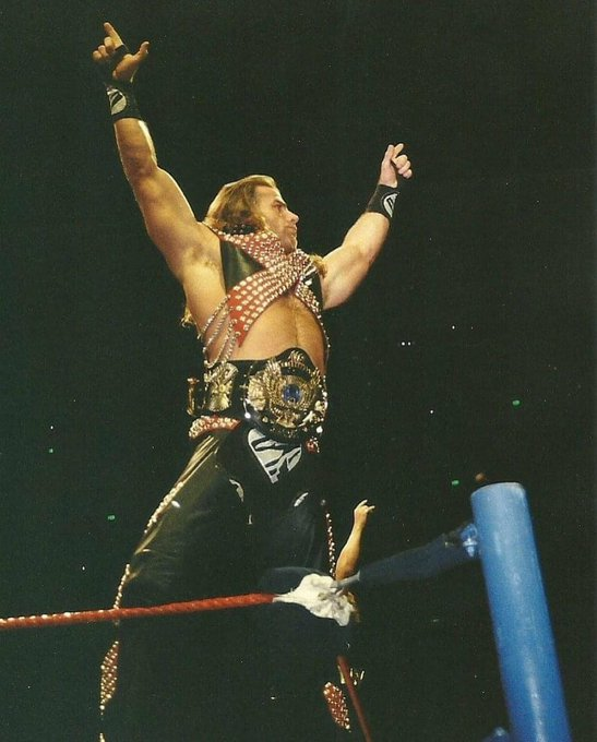 Happy Birthday to the Heartbreak Kid Shawn Michaels!