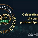 Image for the Tweet beginning: Happy 20th Anniversary @ServeDC! We